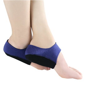 ゲル かかと サポーター2枚入り Sサイズ 足底筋膜炎 かかと 保護カバー 中敷き かかと クッション 足首固定 衝撃吸収 2-GESAPPA-S