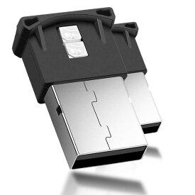車用 コンソール USB LED ライト 2個セット 車内 USB雰囲気ランプ 車内照明 室内夜間 高輝度 軽量 小型 2-FUNIKING
