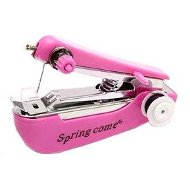 【送料無料】楽々 簡単 どこでも 手直し 片手で 縫える 手の平サイズの ハンディミシン !!! ポータブルタイプの携帯ミシン 見た目はまさにホッチキス ◇RZ-HAN◇RZN