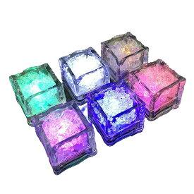 アイス ライト キューブ アイス キューブ ライト 光る氷 LED センサーライト 12個セット ICELIGHT