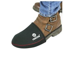 靴守 バイク用 シフト ガード Lサイズ 靴 傷 防止 パッド プロテクター 滑り止め 踏み抜き防止 簡単 着脱 オートバイ 冬 KUTUSYU-L