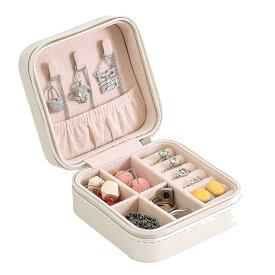 ジュエリーボックス03 ホワイト アクセサリーケース 収納ケース レディース 小物入れ 宝石箱 SINJUE-WH