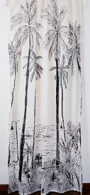 ランドスケープ カーテン 110×180cm カリフォルニア 【新生活】 西海岸風 インテリア アメリカン雑貨