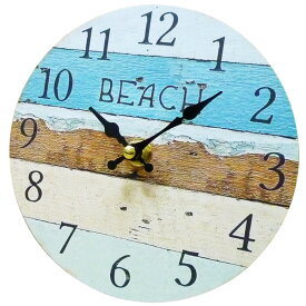 サーフ スタンドクロック 15cm (ビーチ カラー) 置時計 西海岸風 インテリア アメリカン雑貨
