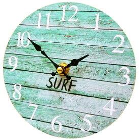 サーフ スタンドクロック 15cm (サーフ BL) 置時計 西海岸風 インテリア アメリカン雑貨