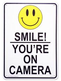 看板 店舗用 アメリカン サインボード スマイル( smile CA-51 )ニコちゃん メッセージ看板 プラスチック看板 案内看板 西海岸風 インテリア アメリカン雑貨