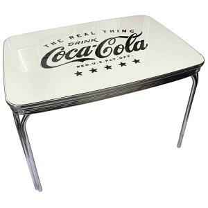 Coca-Cola コカ・コーラ 限定 ダイナーテーブル (PJ-650DL) コカコーラ 白 限定デザイン おしゃれ カフェ ホワイト 西海岸風 インテリア アメリカン雑貨