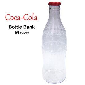 コカ・コーラ ビッグ ボトルバンクM 35cm コカコーラ グッズ 瓶 大きい 貯金箱 ボトル型 大容量 ダイナー ブランド coca-cola 西海岸風 インテリア アメリカン雑貨