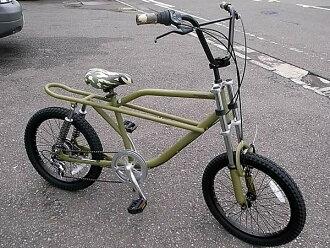 ★ FREAKY BIKE (matte olive) 20 inch ★ freaky bike bicycle BMX