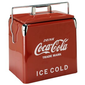 コカコーラ(Coca Cola)ピクニックストレージ レッド クーラーボックス 保冷ボックス アメリカ雑貨 アメリカ雑貨屋 保冷 西海岸風 インテリア アメリカン雑貨