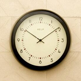 壁掛け時計 ティンウォールクロック・ブリキ Kelp(ケルプ) カントリー雑貨 ナチュラル雑貨 西海岸風 インテリア アメリカン雑貨