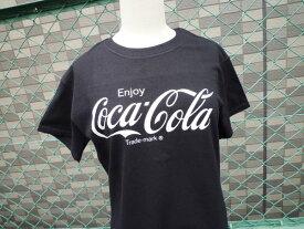 プリントTシャツ Coca-Cola コカコーラ ブラック(CC-VT2B) コカコーラブランド USA アメカジ ブランド ドリンク アメリカン 西海岸風 インテリア アメリカン雑貨