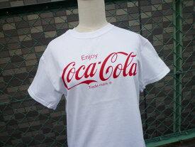 プリントTシャツ Coca-Cola コカコーラ ホワイト(CC-VT2W) コカコーラブランド USA アメカジ ブランド ドリンク 西海岸風 インテリア アメリカン雑貨