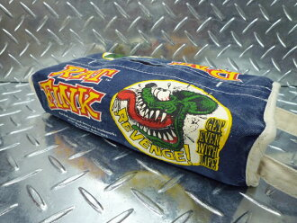Rat Finck tissue case / tissue cover RAT FiNK navy