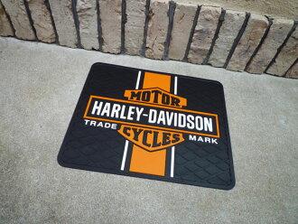 Mat doorstep garage mat mat for Harley-Davidson bar & シ - ルドユーティリティラバーマット cars