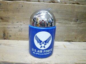 世田谷ベース 大容量 U.S.エアホース(U.S.AIR FORCE)の フタ付きドーム型灰皿 ミリタリー灰皿 [雑貨 喫煙具] 喫煙グッズ 喫煙雑貨 西海岸風 インテリア アメリカン雑貨 父の日ギフト