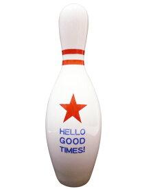 ボーリングピン 貯金箱 ( スター ) Bowling pin bank ボウリング ピン バンク オールドアメリカン レトロ 父の日 西海岸風 インテリア おしゃれ 大きい アメリカン雑貨