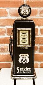 オールドアメリカン ルート66のガスポンプ マルチ キャビネット 53cm マルチラック 収納 ガレージ オブジェ オールディーズ デスプレー アメリカ雑貨 ガスポンプ 西海岸風 インテリア アメリカン雑貨