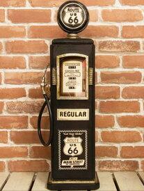 ビンテージアメリカン ルート66のガスポンプCDタワー キャビネット マルチラック アメリカ雑貨 西海岸風 インテリア アメリカン雑貨