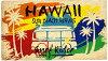 ココナツマット屋外用玄関マット(ハワイサーフライダー/AZ187)ココマットコイヤーマットサーフサーフィン南国リゾートハワイアン雑貨インテリア