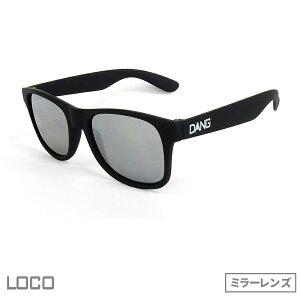 正規代理店 DANG SHADES ダン・シェイディーズ LOCO Soft Black X Chrome Mirror(ロコ ソフト・ブラック x クローム・ミラー)vidg00100