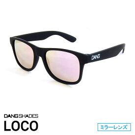 DANG SHADES [ダン・シェイディーズ] LOCO Soft Black X Rose Mirror