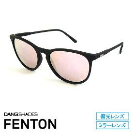 DANG SHADES [ダン・シェイディーズ] FENTON Soft Black x Rose Mirror 【ミラーレンズ】vidg00334