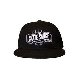 Skate Sauce スケート・ソース  LOGO SNAPBACKS CAP(ロゴ スナップバック キャップ) d005890777cf