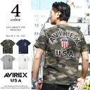 AVIREX アビレックス ショートスリーブ シグネチャー ヴァーシティー ティーシャツ S/S SIGNATURE VARSITY T-SHIRT 61…