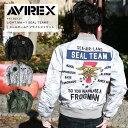 AVIREX アヴィレックス ライトMA-1シールチーム7 フライトジャケット 6192131【ラッキーシール対応】