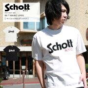 SchottベーシックロゴTシャツ31031262020年春夏新作【ラッキーシール対応】【クーポン対象外商品】【SALE返品・交換不可】