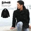 Schott ショット ウールメルトン Pコート 740 【USAモデル】 【初回交換無料】 【クーポン対象外商品】