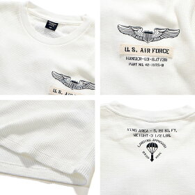 AVIREXアヴィレックスミニワッフルプリントクルーネックTシャツ/LSMINIWAFFLEPRINTT-SHIRT6193470【クーポン使用不可】【ラッキーシール対応】