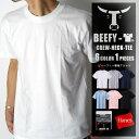 【無条件20%OFFクーポン対象】【送料無料】HANES BEEFY-T ヘインズ ビーフィー メンズ 無地 Tシャツ ヘビーウエイト T…