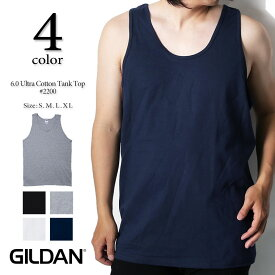 GILDAN ギルダン 6.0 oz U.Sフィット ベーシックタンクトップ 2200