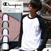 ChampionチャンピオンラグランロングスリーブTシャツC3-J425