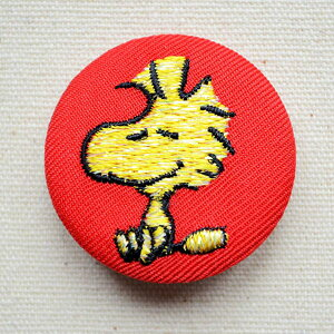 刺繍ブローチ スヌーピー(ウッドストック) PEANUTS/ピーナッツ S02B1120 ワッペン アイロン ブランド 通販 アップリケ ブレザー バッチ ブローチ キャラクター