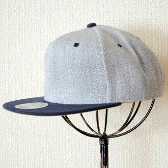 帽子 / 帽奥托奥托平遮阳希瑟羊毛混纺 (深蓝 / 石南花灰色) H1054 * 不允许