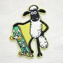 ワッペン ひつじのショーン/Shaum the Sheep (スケートボード) HS500-HS05 ワッペン アイロン ブランド 通販 アップリ…