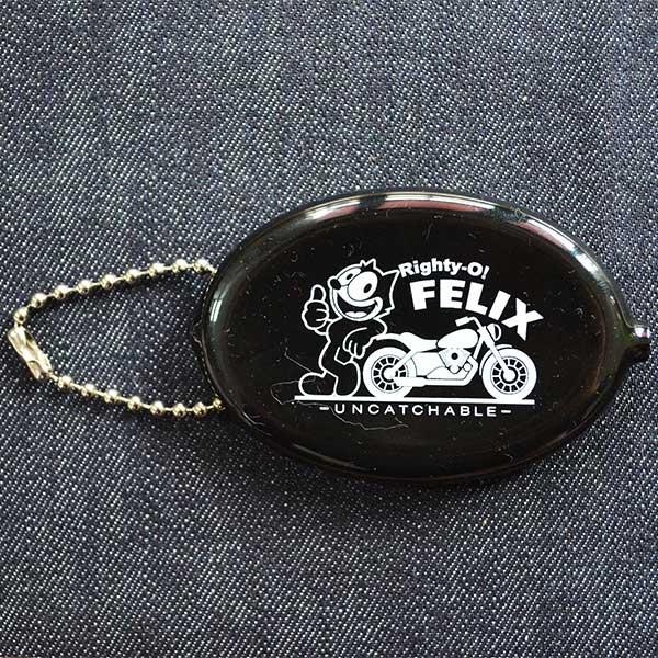 ラバーコインケース フィリックスザキャット Felix The Cat(ブラック/Righty-o) FOA-001 小銭入れ,キーホルダー,アメリカ,アメリカ雑貨,シリコン,ブランド,キャラクター