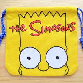 アメリカンキャラ巾着袋(S) シンプソンズ Simpsons LJK-S024