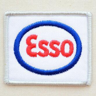 徽标修补程序埃索油埃索社-159 铁贴花补丁字母名称军事汽车迪斯尼徽章