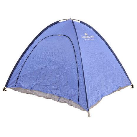 キャンピングフィールド(Camping Field) フルクローズ イージーサンシェルター 551F7KW1005 BLU レジャーテント (Men's、Lady's、Jr)