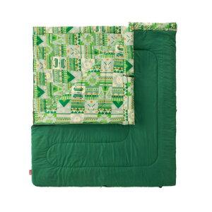 コールマン(Coleman) 送料無料(対象外地域有)寝袋 シュラフ 寝具 コンパクト 軽量 キャンプ用品 ファミリー2 in1/C10 2000027256 (メンズ、レディース)