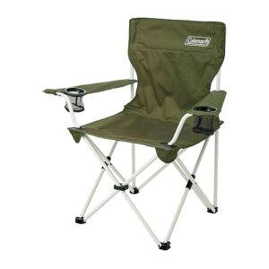 コールマン(Coleman) チェア 折りたたみ椅子 スチール アウトドア リゾートチェア (オリーブ)2000033560バーベキュー キャンプ スチール 緑 グリーン 収納ケース (メンズ、レディース)