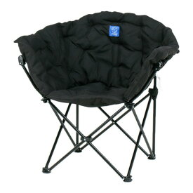 ホールアース(Whole Earth) 椅子 チェア スチール アウトドア おしゃれ 在宅ワーク 折りたたみ キャンプ コンパクト クラムチェア WE23DC35 BLK ベランピング (メンズ、レディース)