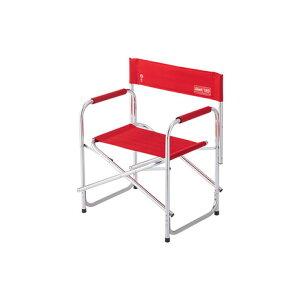 コールマン(Coleman) チェア 折りたたみ椅子 120th キャプテンチェア 2000037320バーベキュー キャンプ アルミ 赤 レッド (メンズ、レディース)