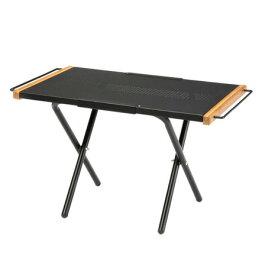 ホールアース(Whole Earth) コンパクトテーブルHEATRESISTANT TABLE2 WE2KDB09 BLK (メンズ、レディース)