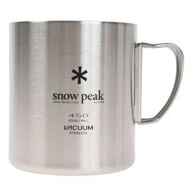 【3点購入5%OFFクーポン!5/8〜5/10】スノーピーク(snow peak) ステンレス真空マグ450 MG-214 (メンズ、レディース、キッズ)