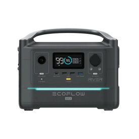 【クーポン配布中!スーパーセール期間限定】EcoFlow(EcoFlow) RIVER Maxポータブル電源 EFRIVER600MAX-JP (メンズ、レディース)